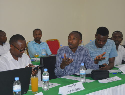 sensitization meeting with media houses and journalists.