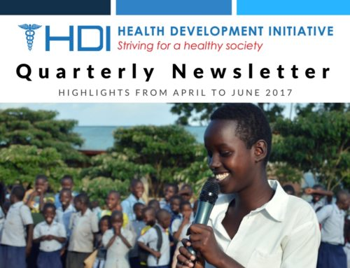 HDI Newsletter April-June 2017